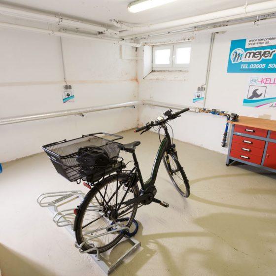 Hotel Eichsfeld Fahrradkeller E-Bike
